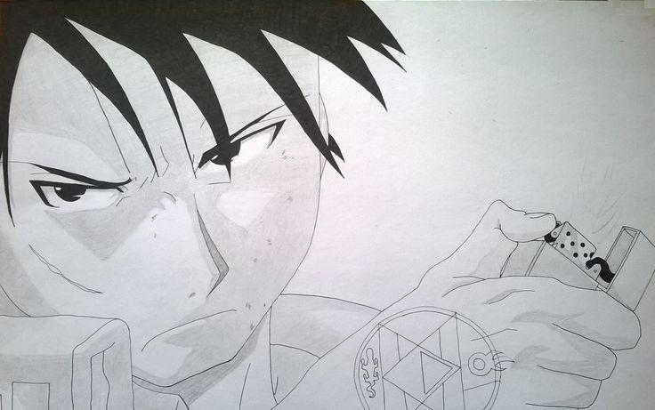 Angry Roy Mustang - Fullmetal Alchemist Brotherhood