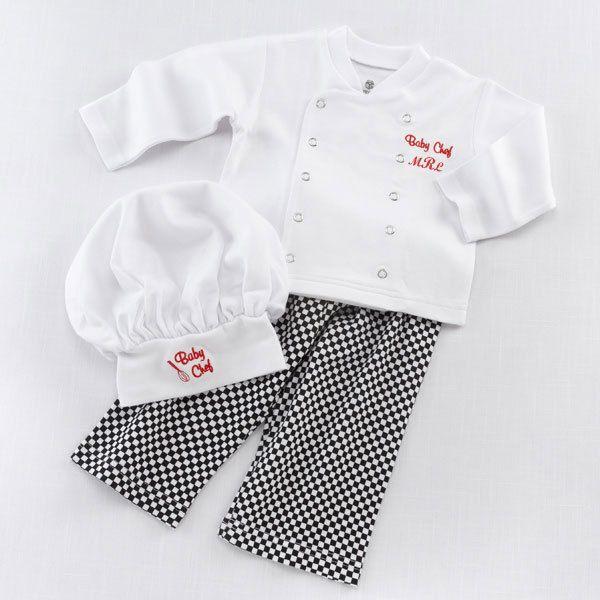 Barato Nova engraçado Baby Boy Clothes Set bebê recém nascido cozinheiro chefe…