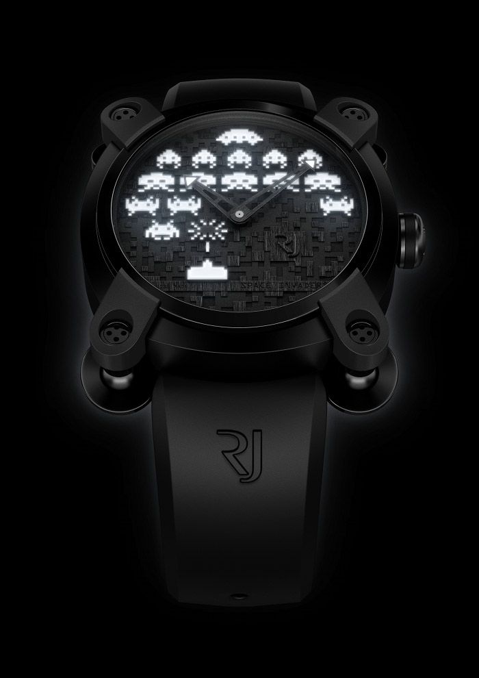 Space invaders limited edition - Romain Jerome
