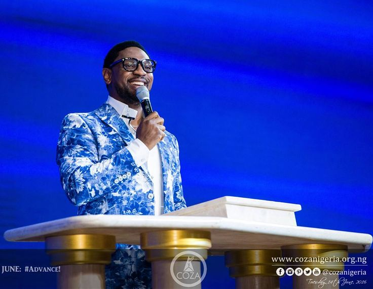 The reason we have confidence is because there's a Lamb upon the throne. #PastorBiodun #Advance #AllThingsNew