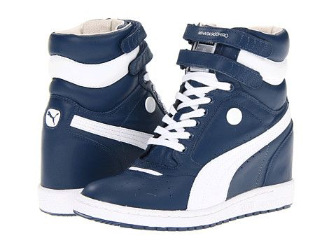 Retro wedge sneakers from PUMA