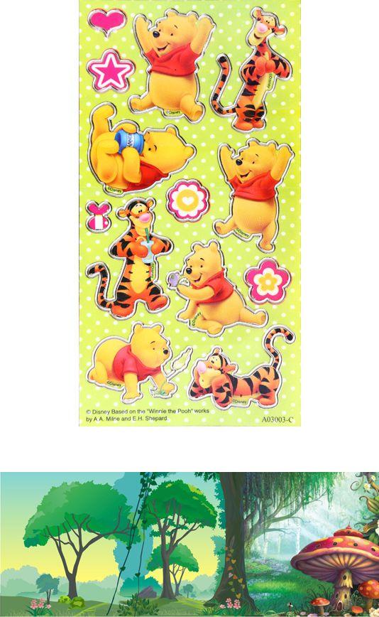Winnie the Pooh D.I.Y. licensed sticker money box