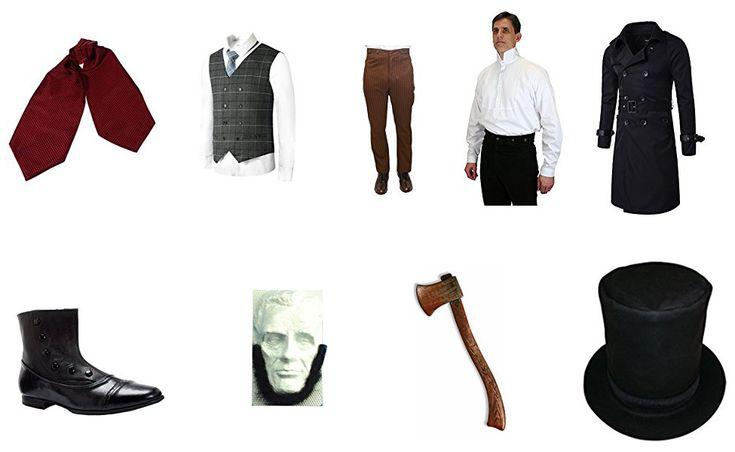 Abraham Lincoln Costume from Abraham Lincoln, Vampire Hunter