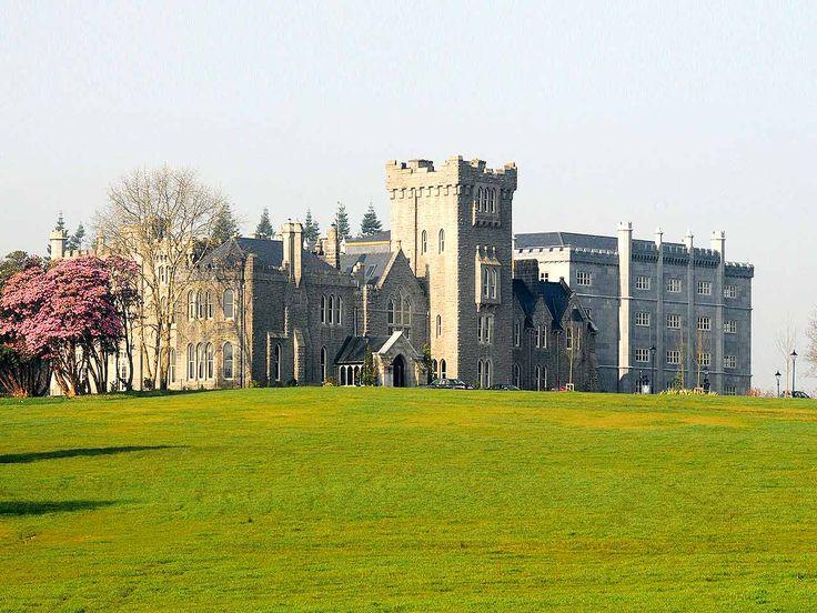 Kilronan Castle, Ballyfarron, Ireland. Restored in 2006, this Irish castle was converted into a luxury hotel.