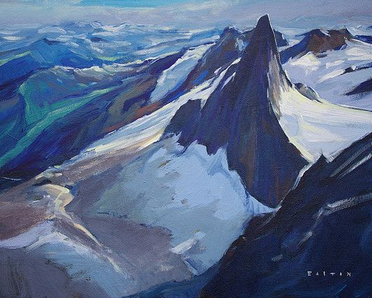 Canadian Artist and Painter Charlie Easton is a featured artist at the mountain galleries at the fairmont. Charlie's paintings are available.