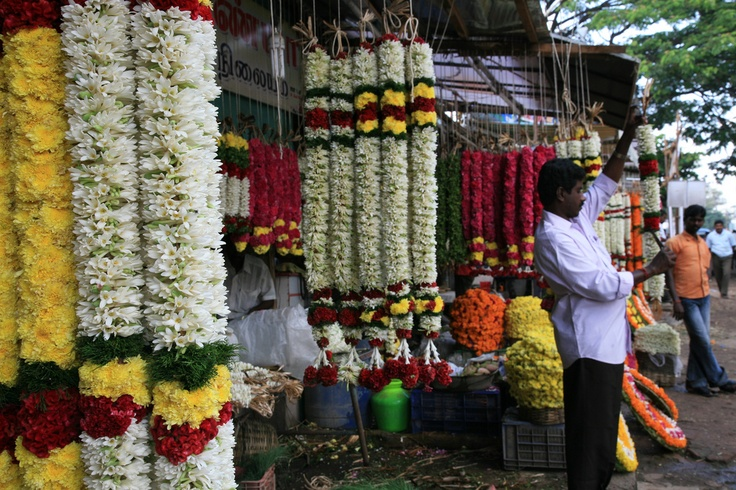Image detail for -Flower Market in Coimbatore, India