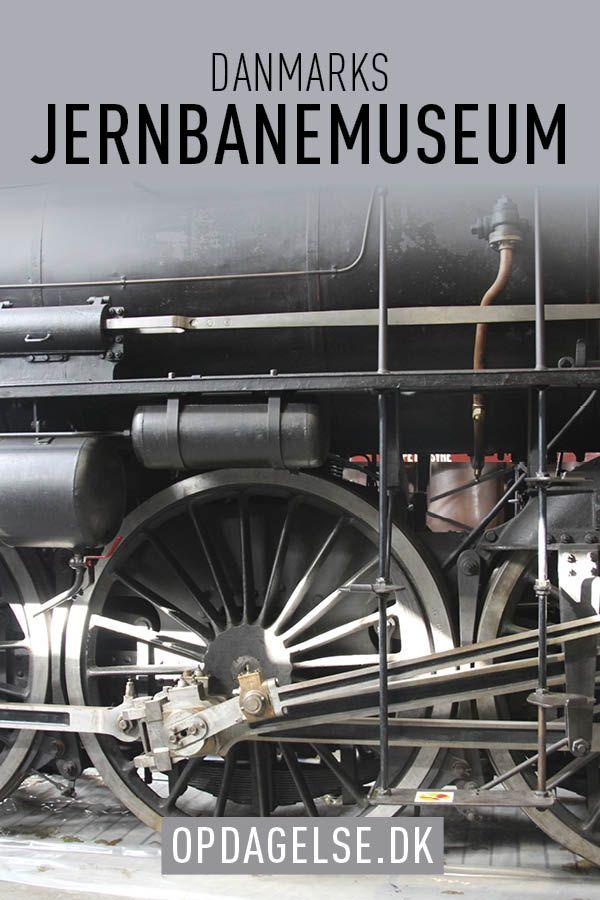 Denmarks railway museum in Odense