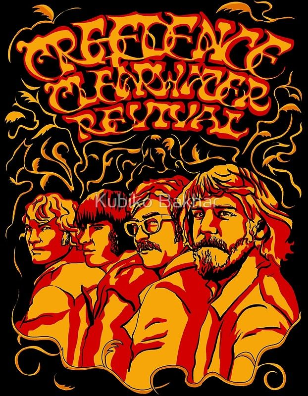 Creedence Clearwater Revival, CCR | Poster | cabin in 2019