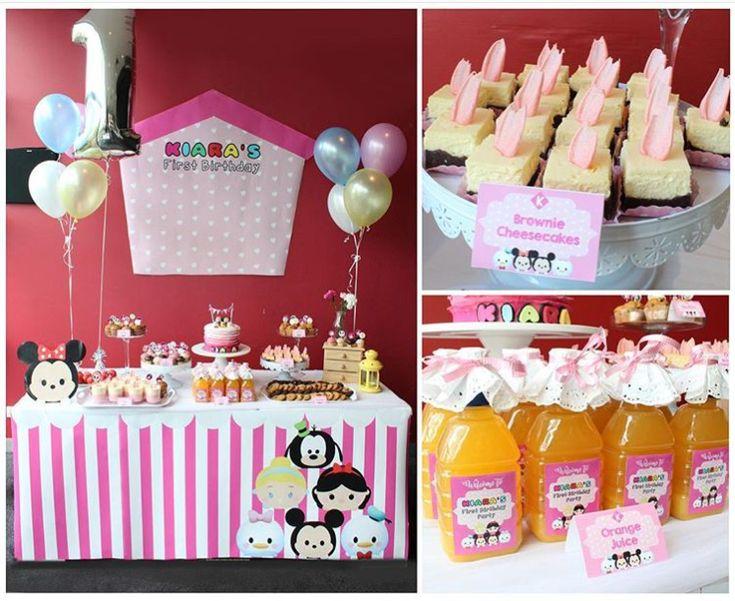 Tsum Tsum Ideas Para Fiestas: 18 Disney Ideas Tsum Tsum Party