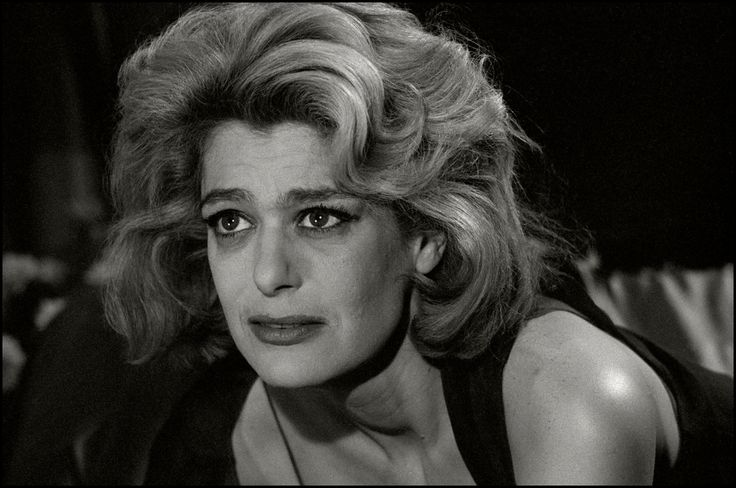 Herbert List  ITALY. Naples. Set of the film Last Judgement by ITALIAN director Vittorio de Sica. GREEK actress, Melina MERCOURI. 1961.
