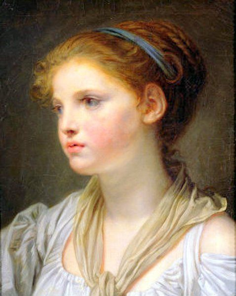 60 best images about jean baptiste greuze on pinterest - Fille brune au yeux bleu ...