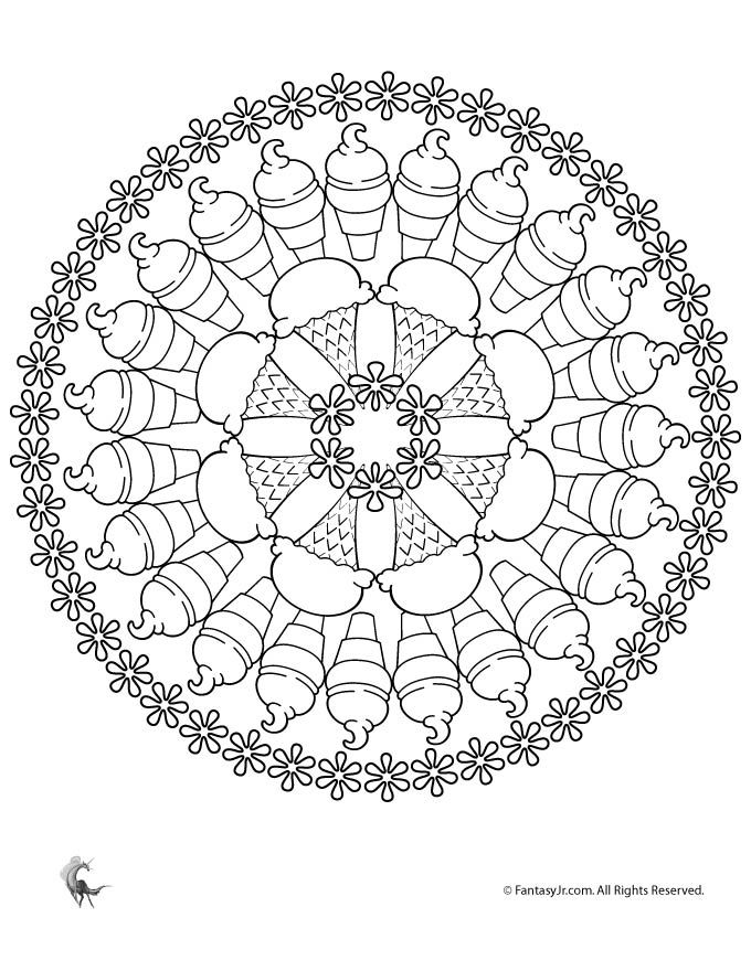 59 best MANDALES infantils images on Pinterest Mandalas, Coloring - copy extreme mandala coloring pages