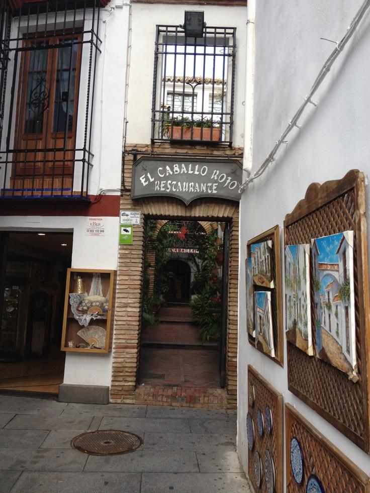 """Restaurante en Córdoba: """"El Caballo Rojo"""" con amigos, estilográficas y buena comida...que más se puede pedir."""
