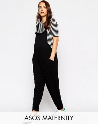 ASOS Maternity Overall Jumpsuit In Jersey