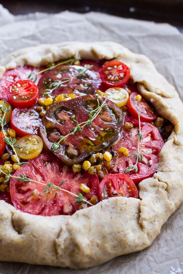 ... Galette, Tomato And Goat Cheese Galette, Tomato Galette, Heirloom