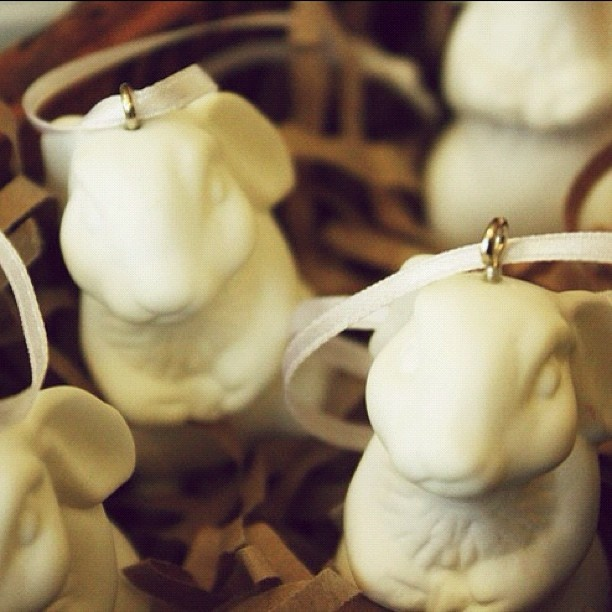new super cute @Have you met Miss Jones bunny decorations in the shop...