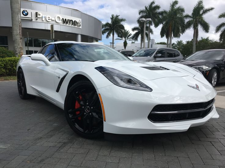 Vista BMW of Coconut Creek #Quality #Corvette #Fast #Murica  This is an example of the professional STAGED photography we provide for our automotive retail clients. We help dealers attract consumers in various ways, Quality photographs is just one of those tactics.