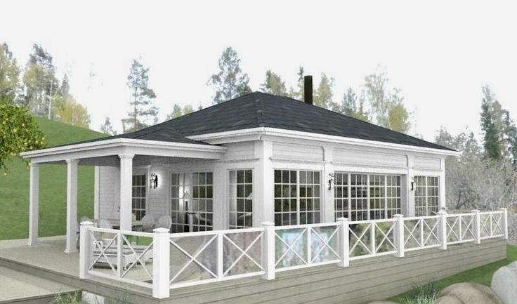 Den Vita Drömgården: En sjöstuga till ett New England hus i skärgården