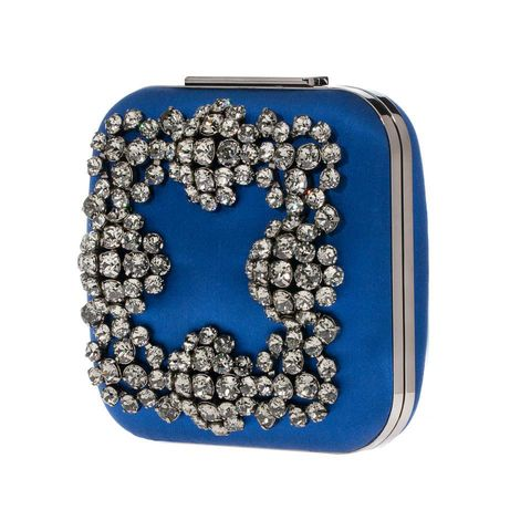 Manolo Blahnik launched a breathtaking capsule collection of six evening clutches.