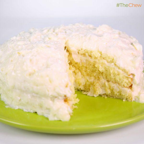 Carla Hall's #CoconutLayerCake! #TheChew #Coconut #LayerCake #Cake
