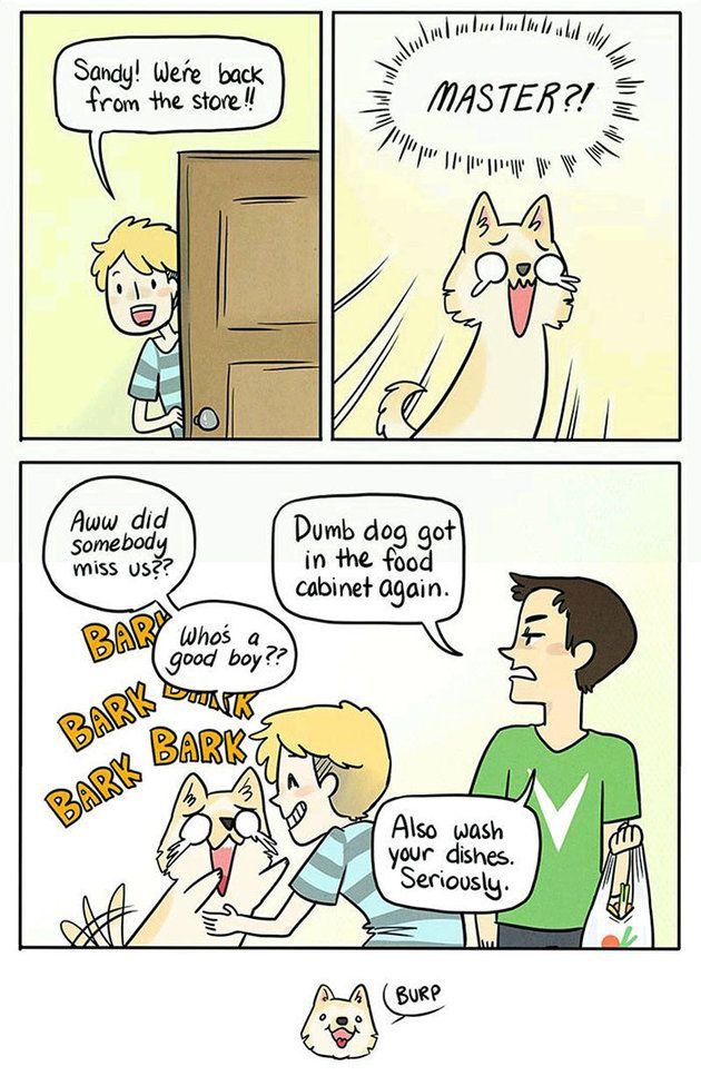 This Spot-On Comic Nails How Your Dog Feels Alone At Home