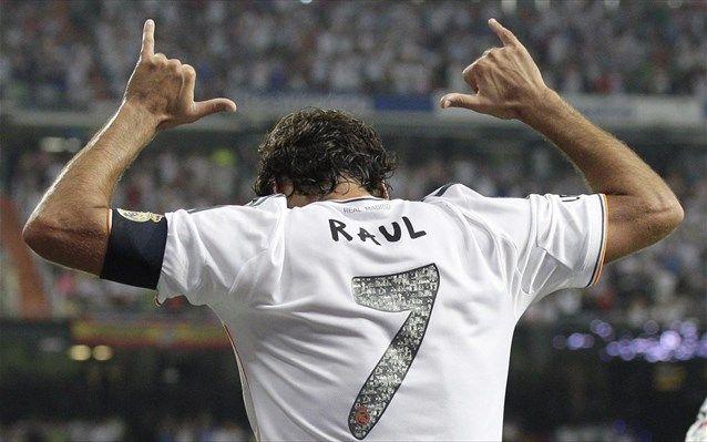 Raul Gonzalez Blanco. Real Madrid.