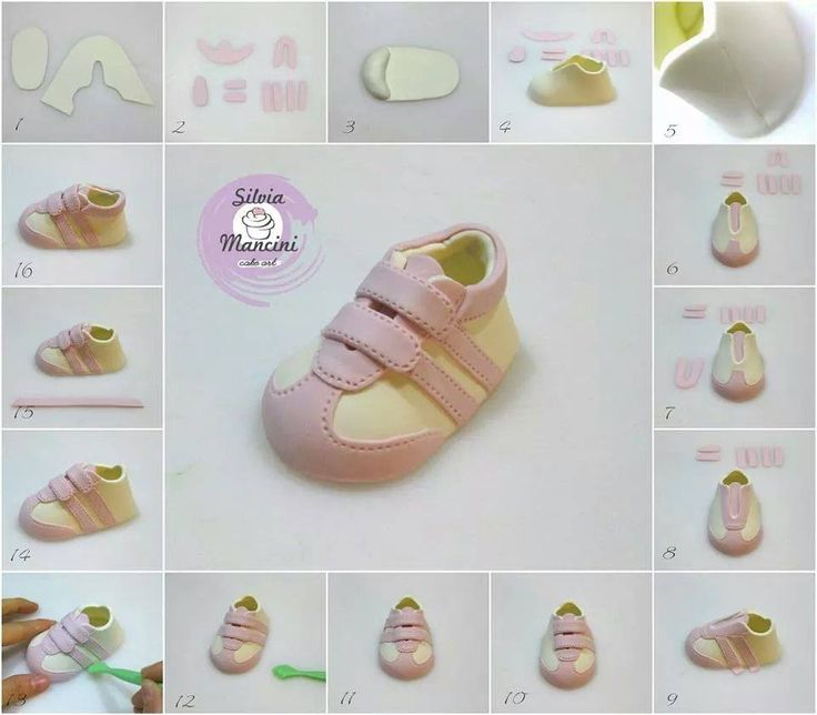 Cake Decorating Baby Shoe Template : Pin by Ana Angelica on figuritas Pinterest Baby shoes ...