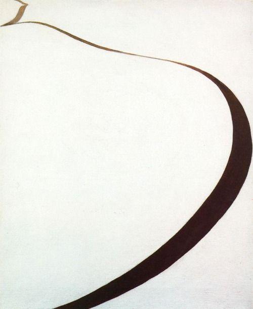 Georgia O'Keeffe Winter road I, 1963 Oil on canvas 55,9 x 45,7 cm Estate of Georgia O'Keeffe