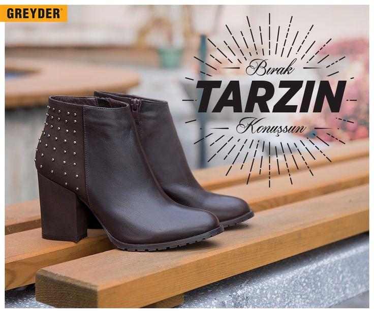 Kışın en tarz ayakkabıları Greyder'de seni bekliyor! :) #heartofcity #greyder #greydertr