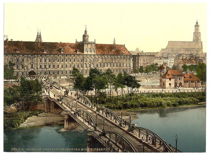 Zdjęcie numer 1 w galerii - Niemiecki Wrocław na kolorowych zdjęciach z amerykańskiej Biblioteki Kongresu