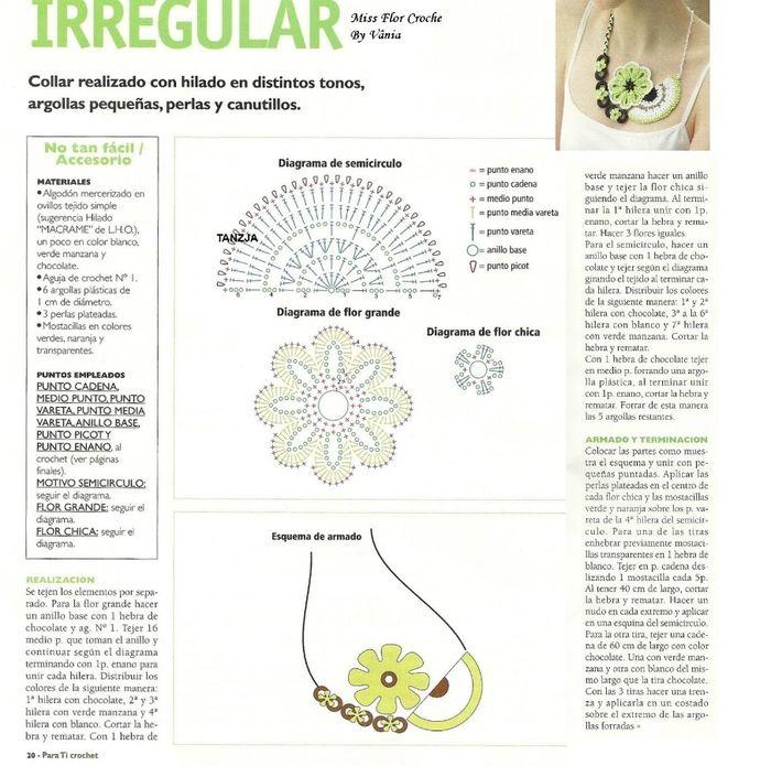 92 best Diagramme    crochet    images on Pinterest      Crochet