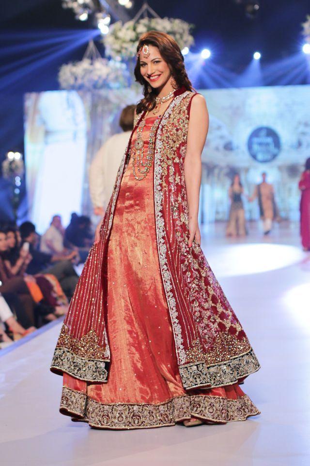 Indian & Pakistani Bridal Anarkali Suits Collection 2015-2016