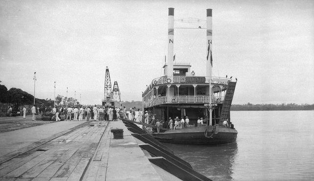 1929 Vapor Santa Fe, Barranquilla, Colombia -