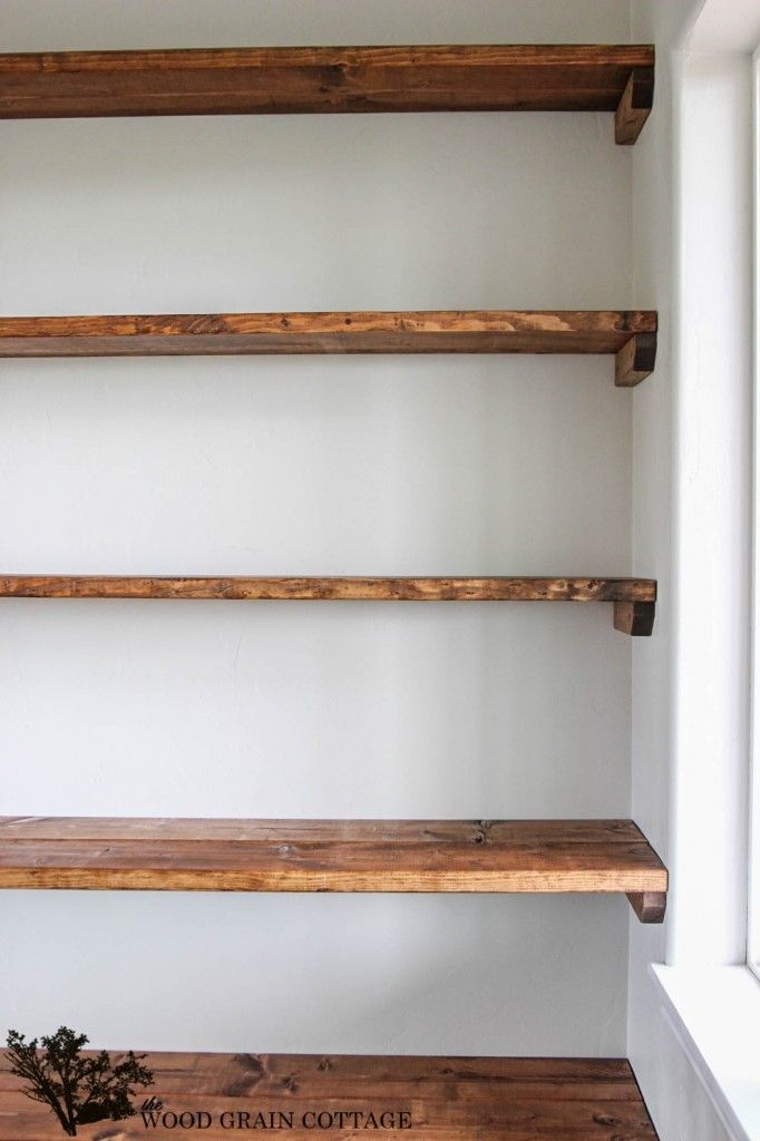 Best 25 Diy shelving ideas on Pinterest Wall shelves  : 5a238f4c29f3cb2276de79a90ddf1393 diy wood shelves diy closer shelves from www.pinterest.com size 682 x 1024 jpeg 64kB