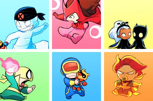 Marvel Babies - Skottie Young