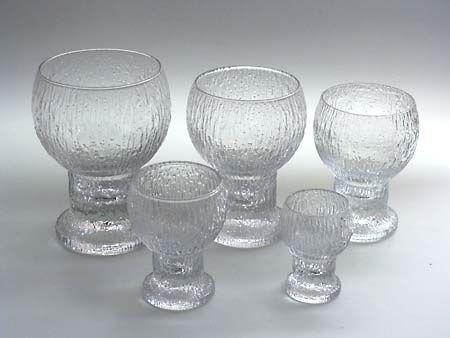 Lasikammari–Tableware. Kekkerit, 1972-86, Timo Sarpaneva