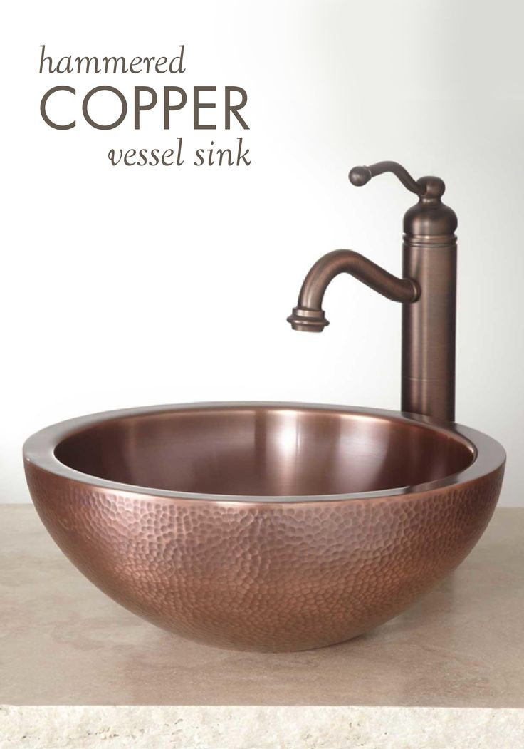 The 25 Best Copper Vessel Sinks Ideas On Pinterest Copper Bathroom Sinks Vessel Sink And