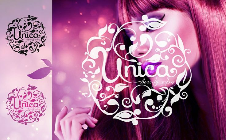 Unica - beauty salon logo ‹ dedalis.ro
