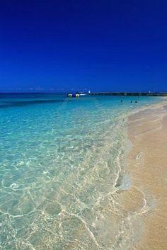 Seven Mile Beach, Jamaica. So beautiful.. I do miss this beach.....