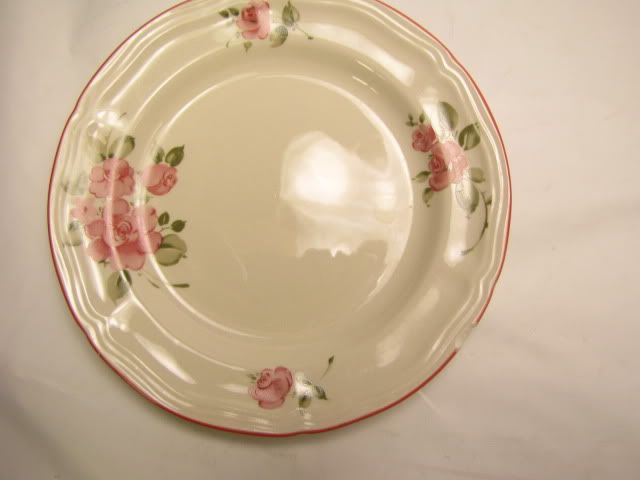 Vintage Gibson Housewares Pink Roses Plate & 10 best My Dinnerware _ Gibson- Roseland pattern Wanted images on ...