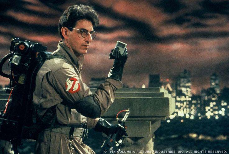 Harold Ramis looking pretty badass as Egon Spengler in #Ghostbusters (1984).