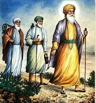 Guru Nanak Dev Ji - Bhai Mardana Ji and Bhai Bala Ji