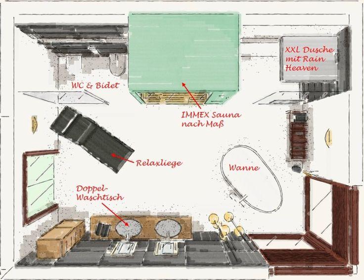 bäder planen: traumbad mit sauna › my lovely bath - magazin für, Badezimmer