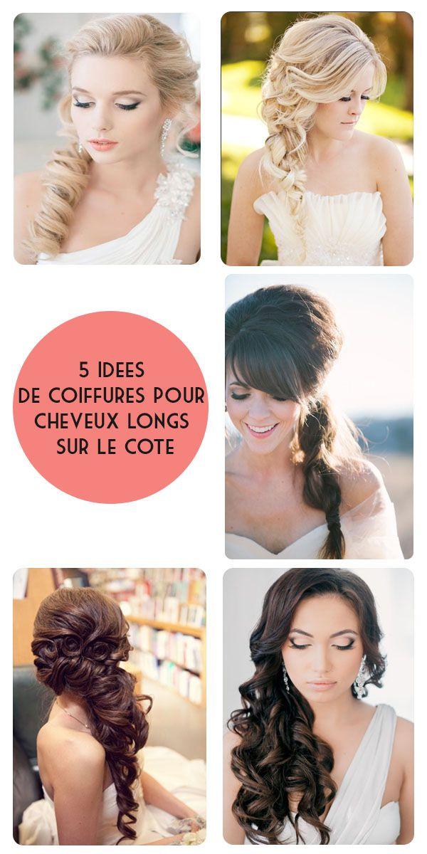 5 id�es de coiffures pour cheveux longs sur le c�t�