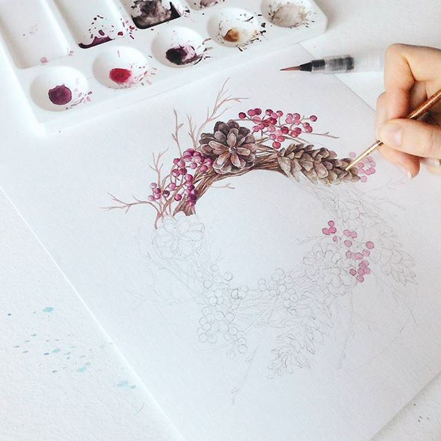 Artist: @coosomno #drawing #draw #art #artist #artwork #painting #paint #illustration #watercolor