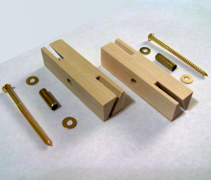 Two Blade Whirligig Propeller Hub Parts w Brass Hardware