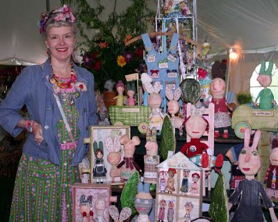 The Constant Gatherer: Julie Arkell ~ I wish I had half her collection of pinnys.
