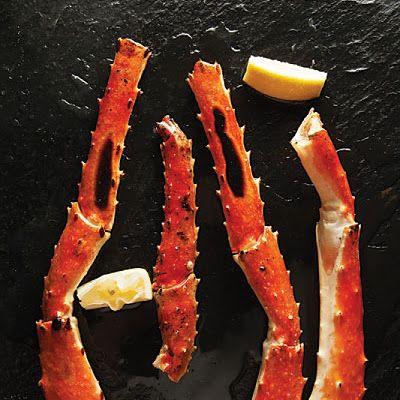 Grilled King Crab Legs @keyingredient