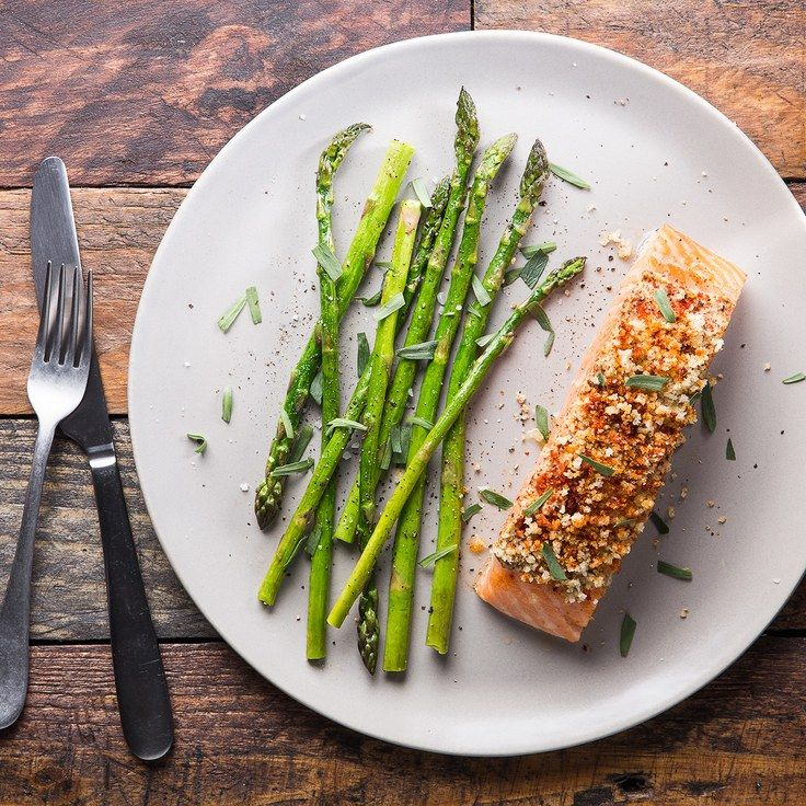 """""""Baked Mustard-Crusted Salmon With http://www.epicurious.com/recipes/food/views/baked-mustard-crusted-salmon-with-asparagus-and-tarragon-56389444?mbid=nl_fig_004_12162016_Daily&CNDID=35715710 and Tarragon""""  http://www.epicurious.com/recipes/fqood/views/baked-mustard-crusted-salmon-with-asparagus-and-tarragon-56389444?mbid=nl_fig_004_12162016_Daily&CNDID=35715710"""