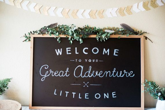 Little Adventurer Baby Shower